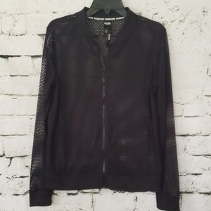NWT Victoria Sport netted exercise jacket